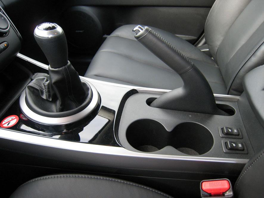 Interior del Mazda CX-7