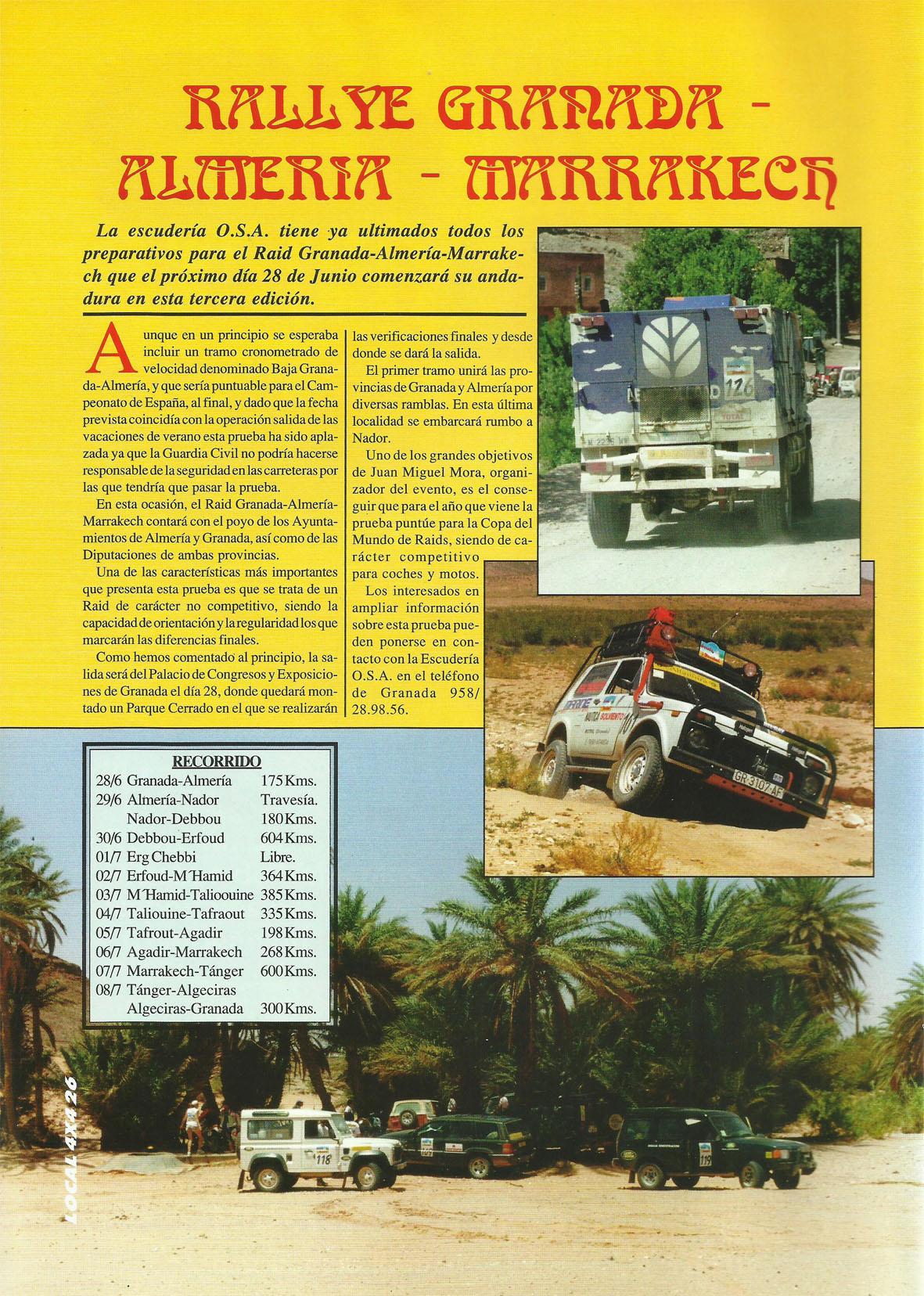 Revista Local 4x4 Número 32 Página 26