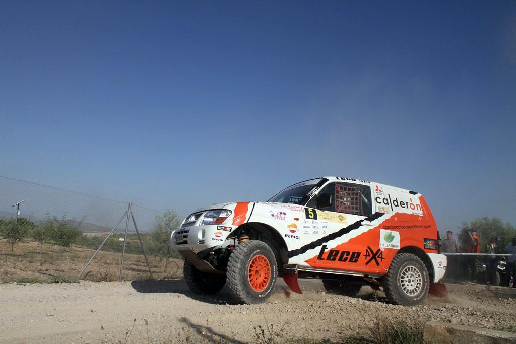 Rally Mar de Olivos Cámara con Mitsubishi