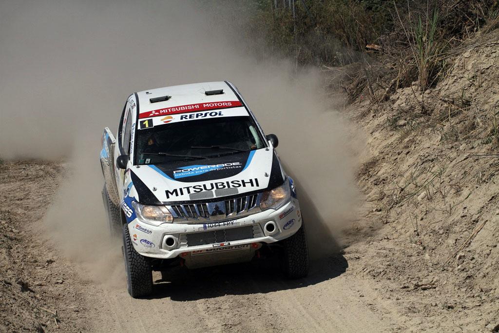 Rally Mar de Olivos Gracia con Mitsubishi