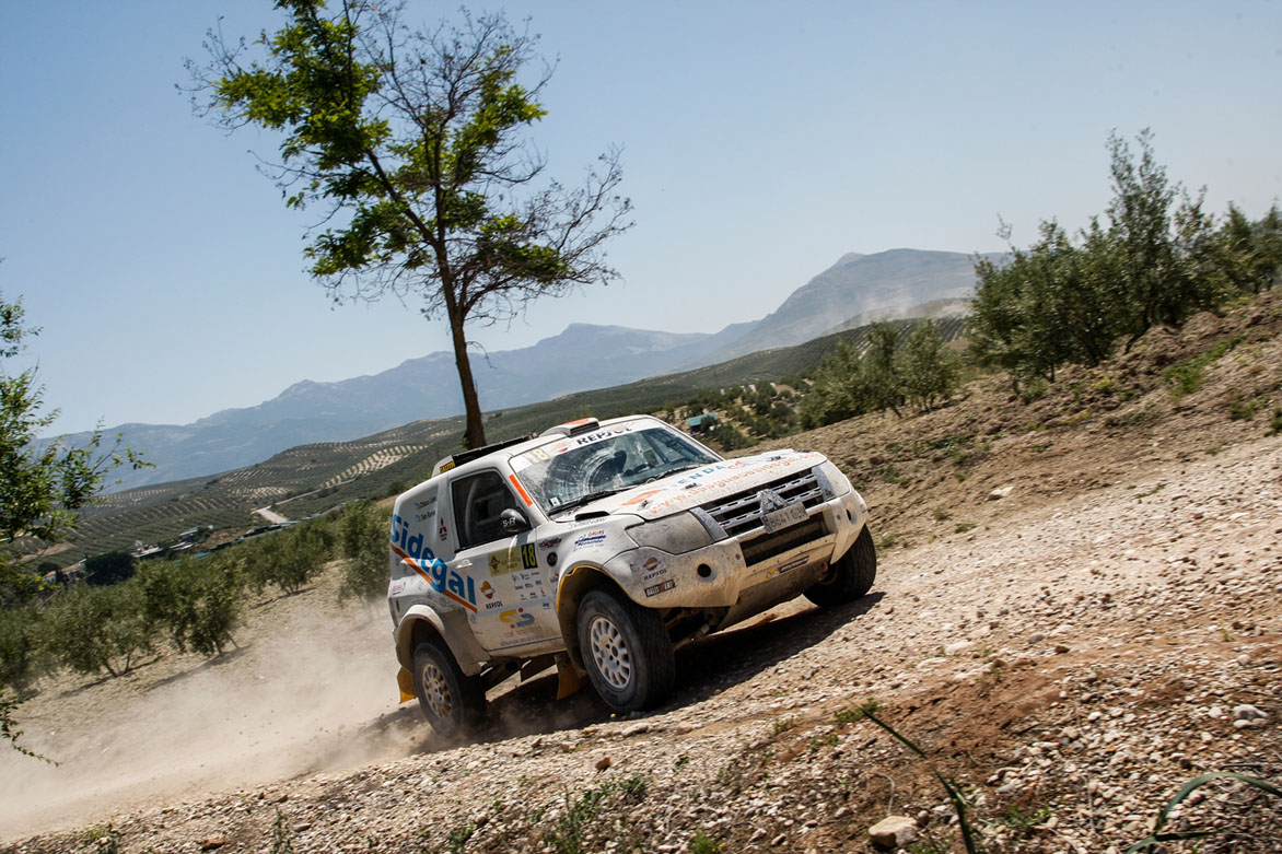 Rally Mar de Olivos Ramos con Mitsubishi
