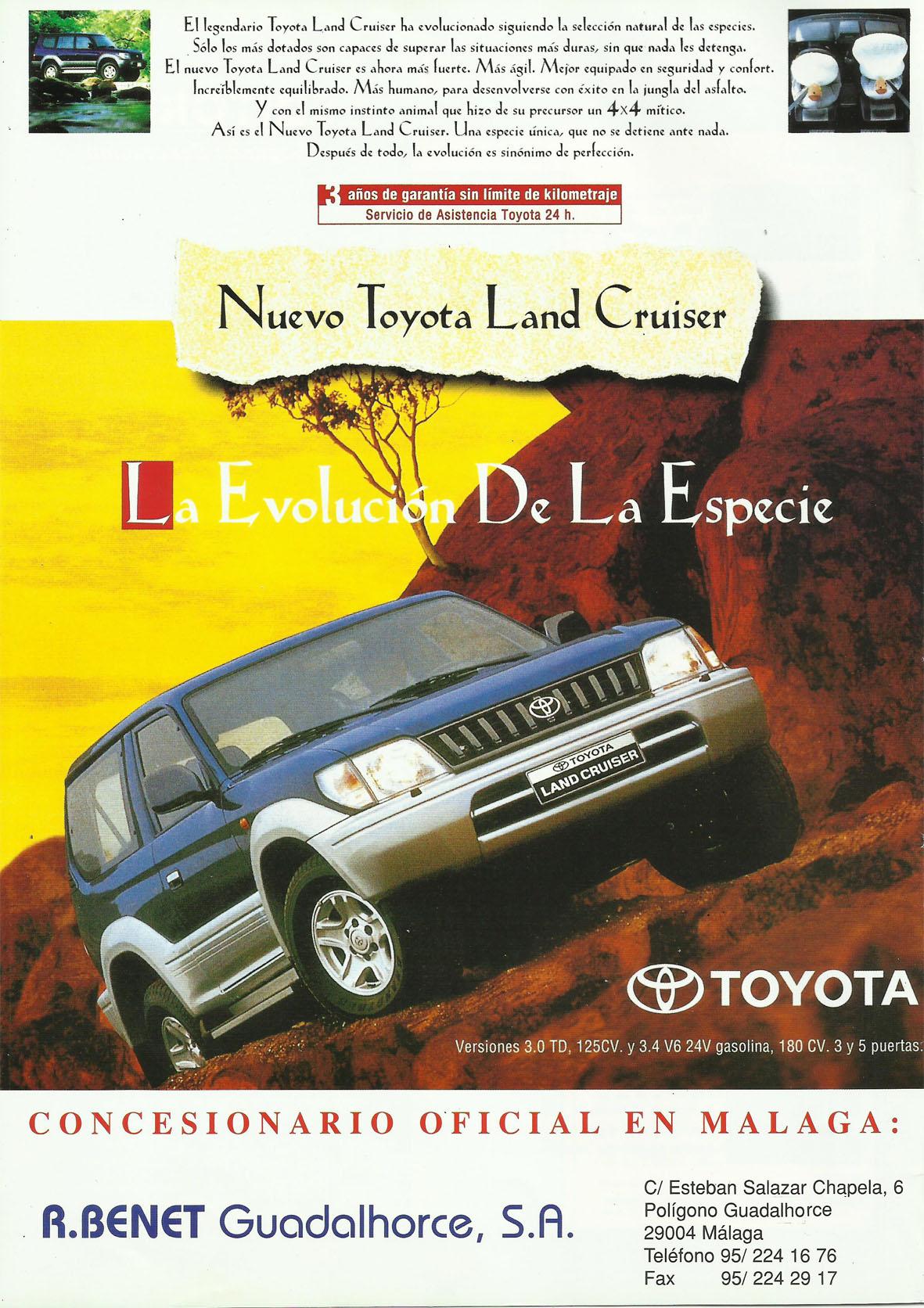 Revista Local 4x4 32 02 Publicidad Toyota R Benet