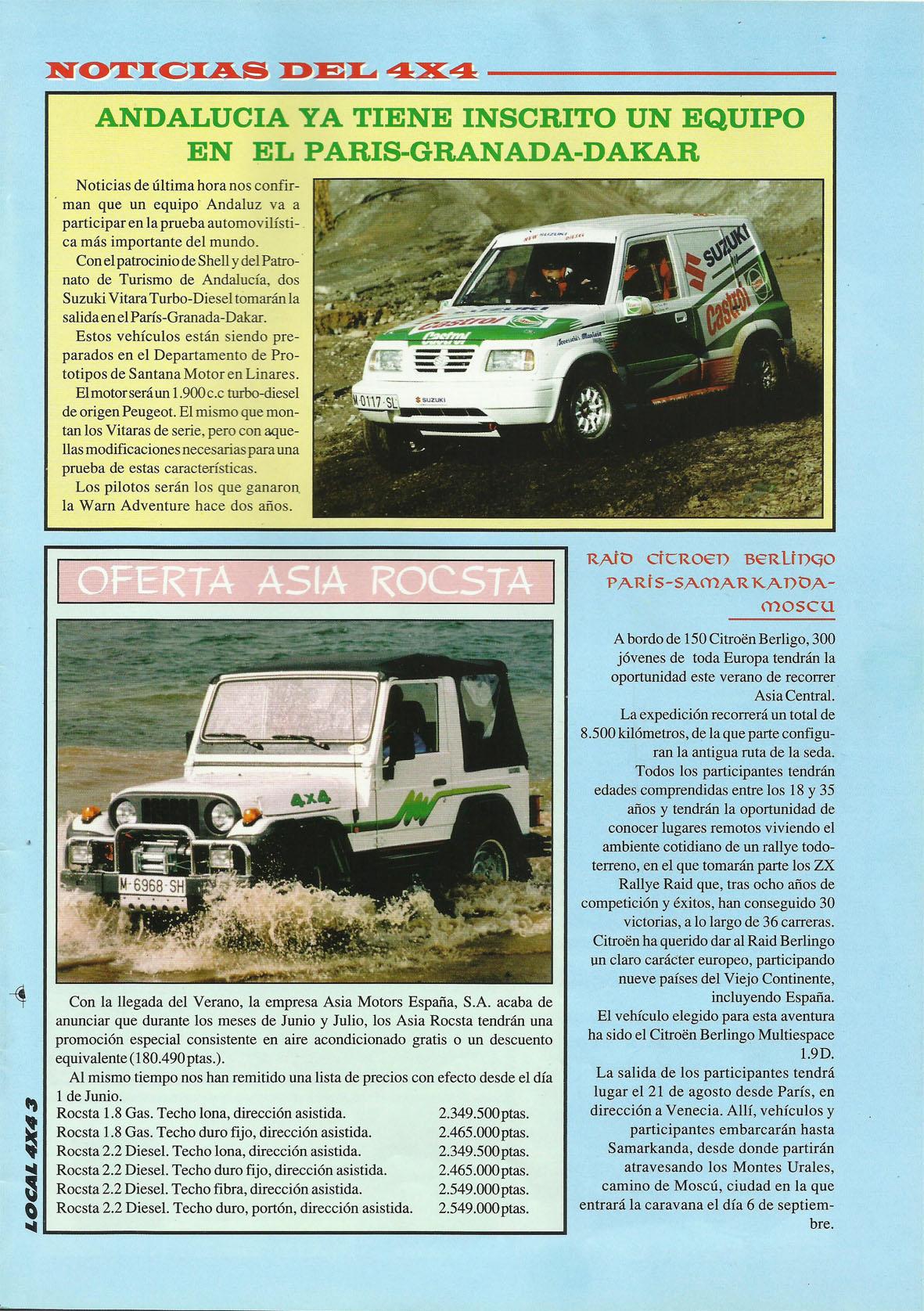 Revista Local 4x4 32 03 Noticias del 4x4