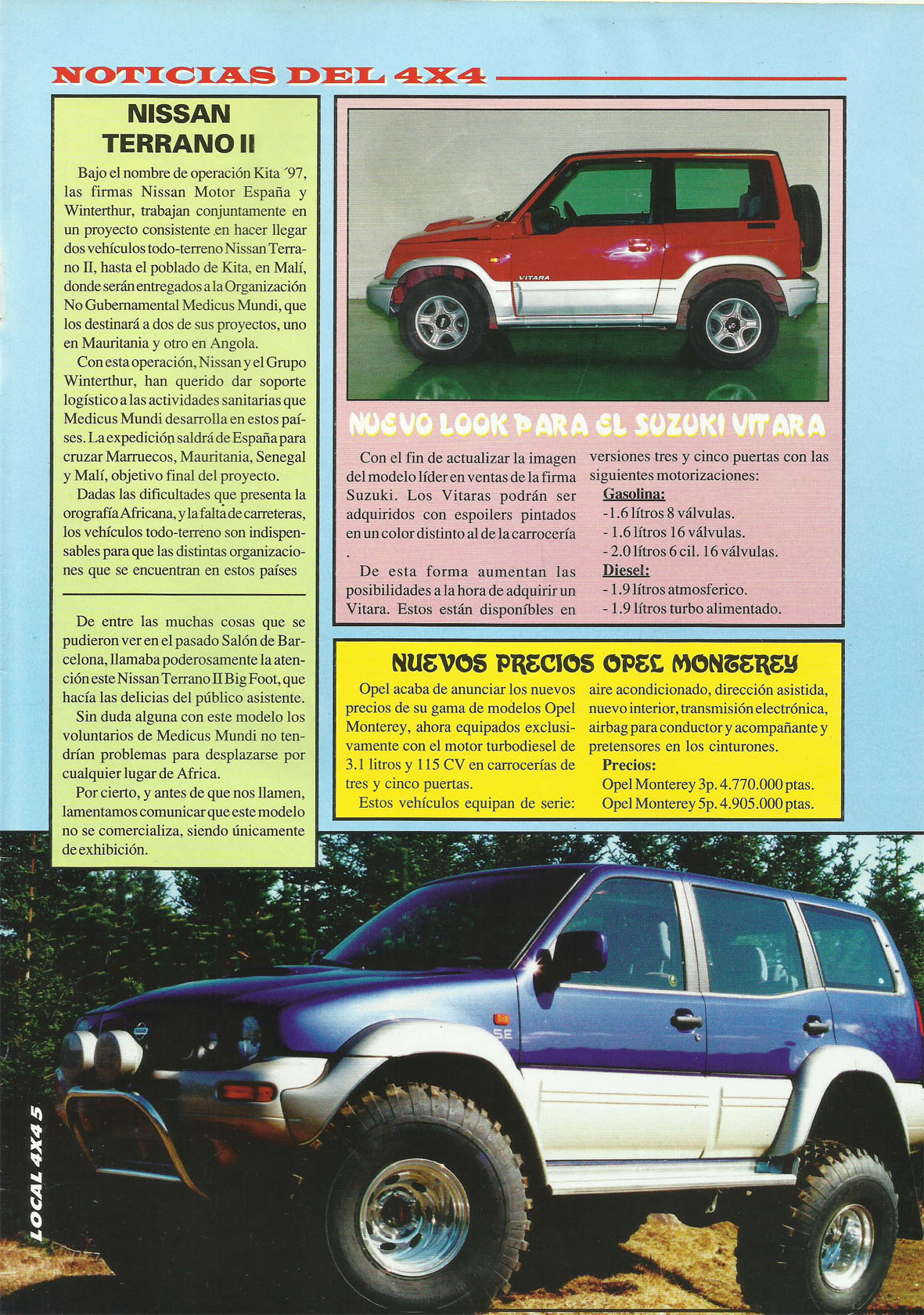 Revista Local 4x4 32 05 Noticias del 4x4