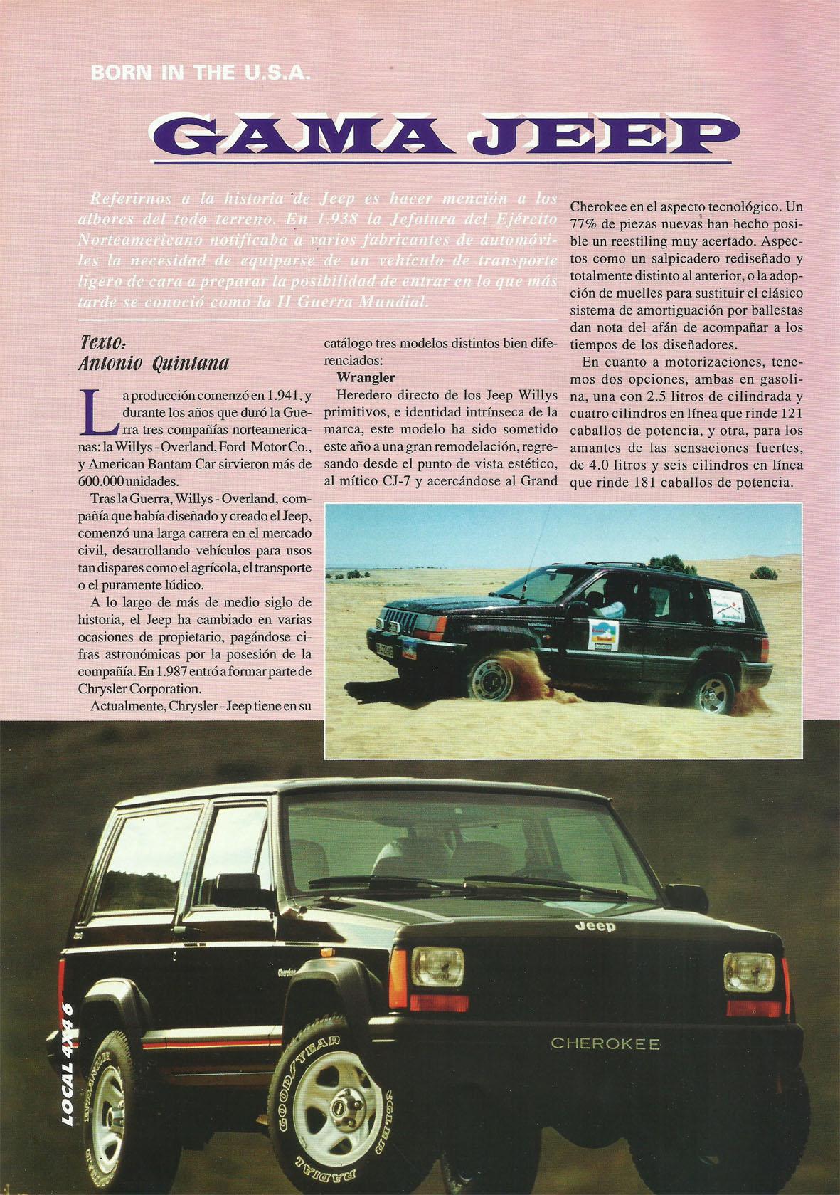 Revista Local 4x4 32 06 Gama Jeep 1997 01