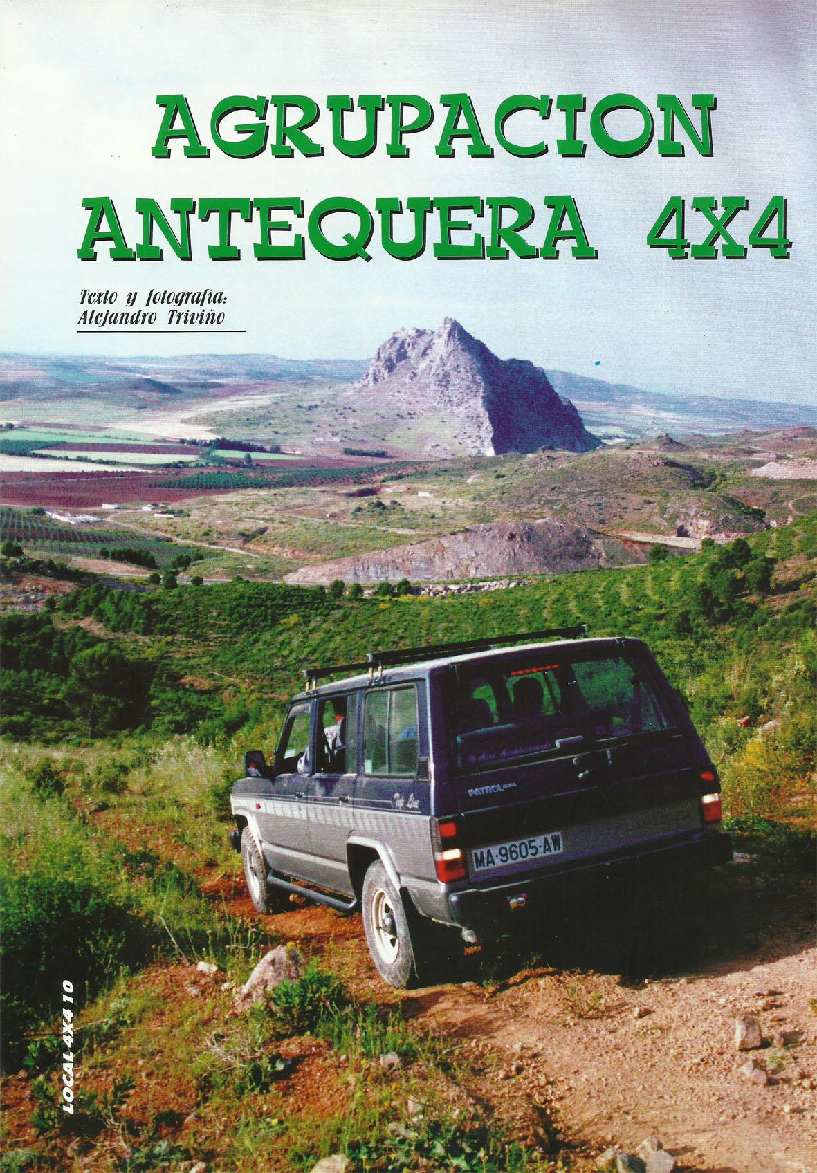 Revista Local 4x4 32 10 Reportaje Agrupación Antequera 4x4