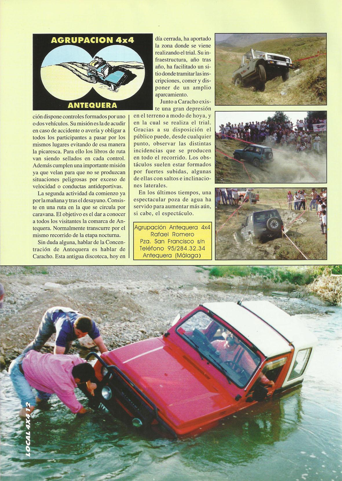 Revista Local 4x4 32 12 VI Concentración 4x4 Ciudad de Antequera 02