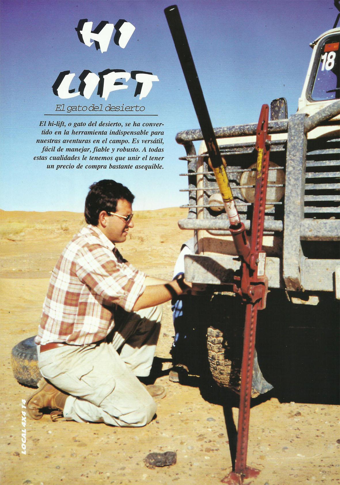 Revista Local 4x4 32 14 Curso de Rescate Gato del Desierto Hi Lift