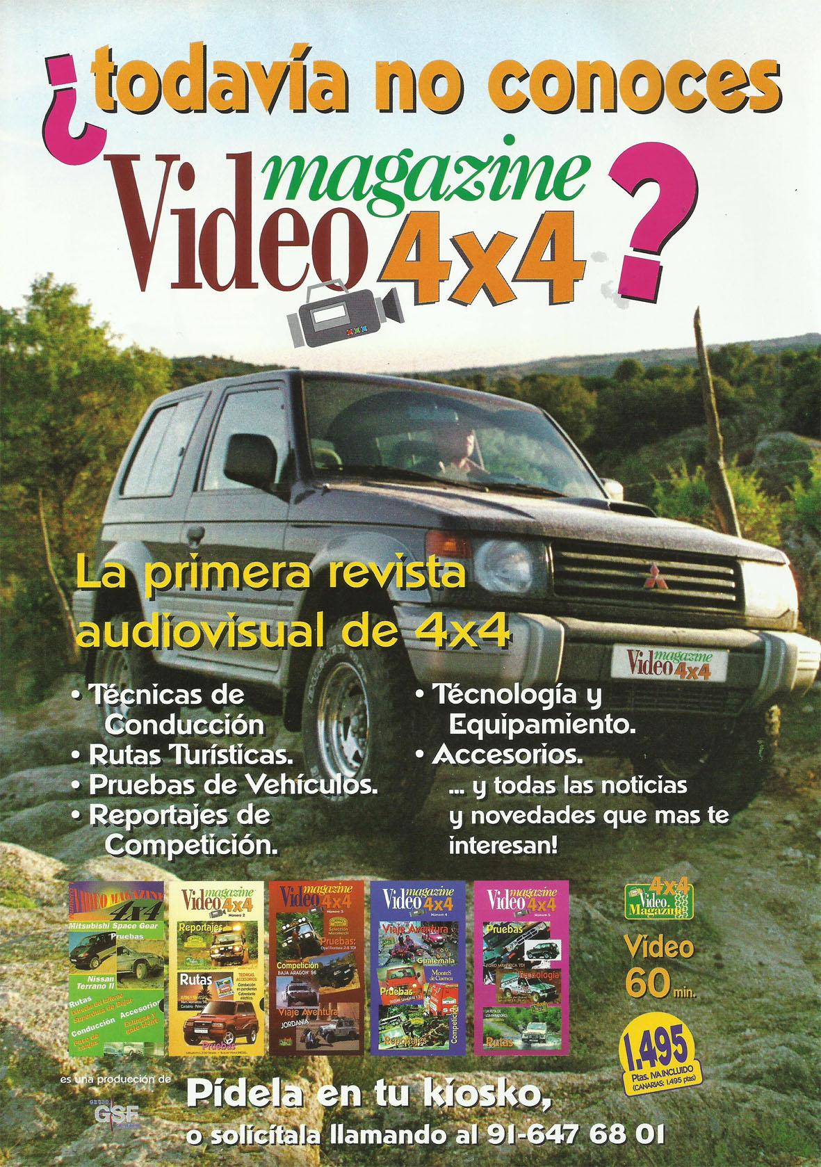 Revista Local 4x4 32 16 Publicidad Revista Video Magazine 4x4