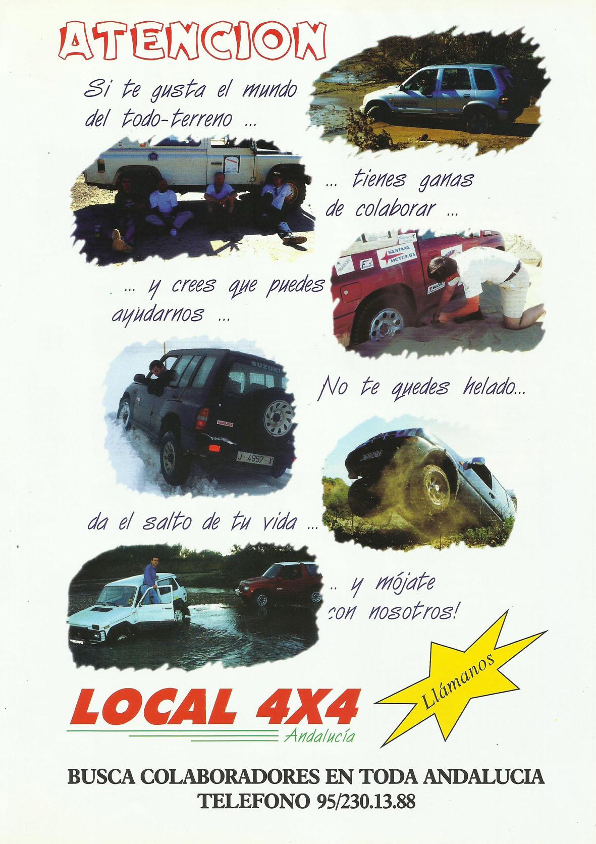 Revista Local 4x4 32 25 Publicidad Colaboradores Revista Local 4x4