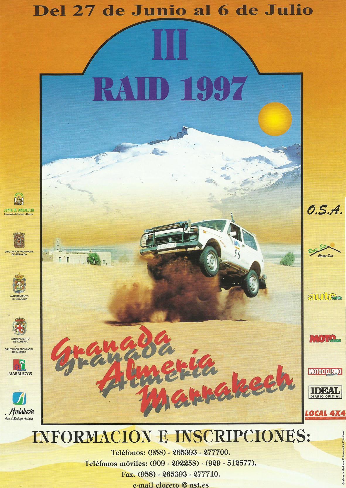 Revista Local 4x4 32 27 Publicidad Rallye Granada Almería Marrakech