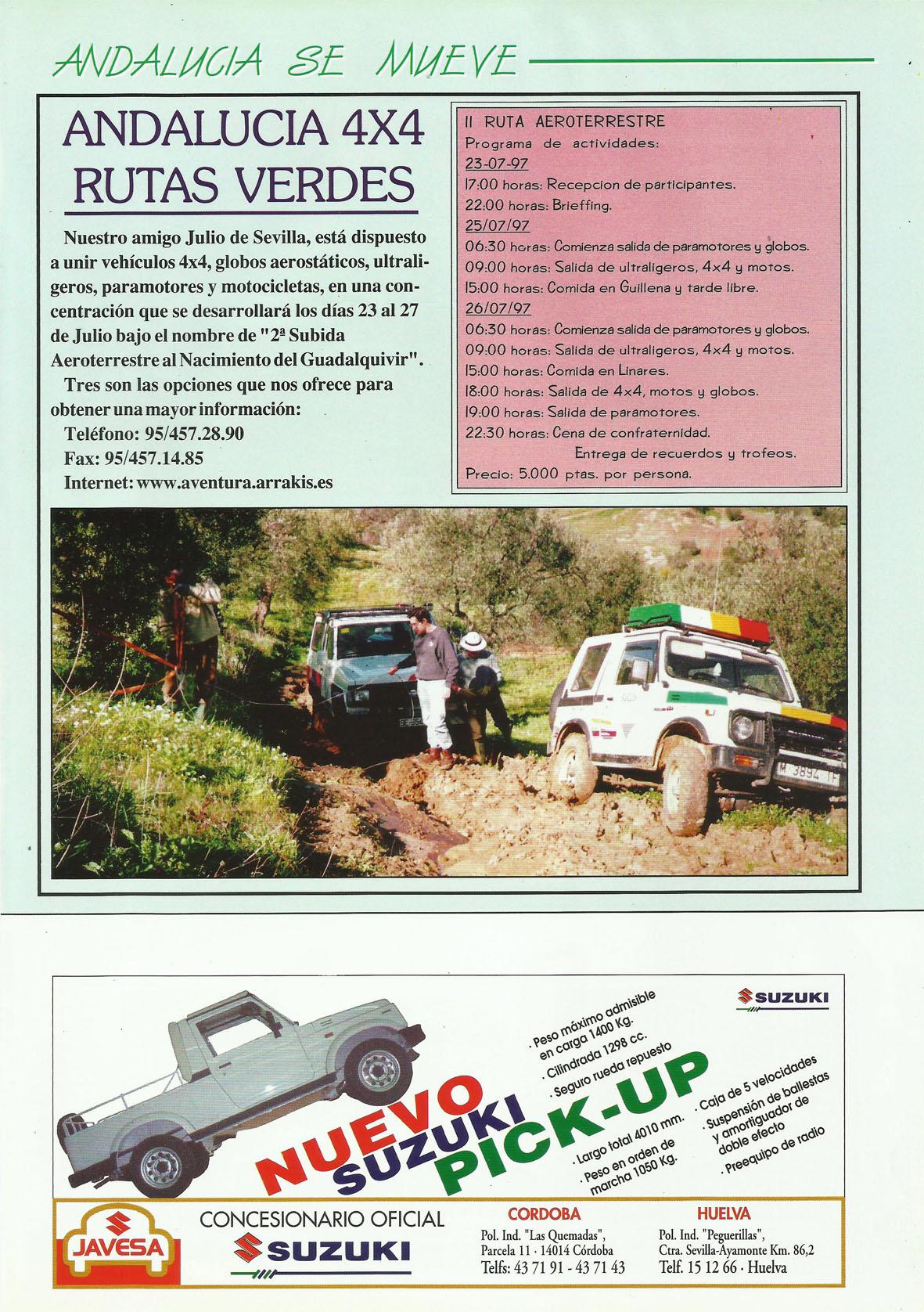 Revista Local 4x4 32 31 Próximas Actividades 04