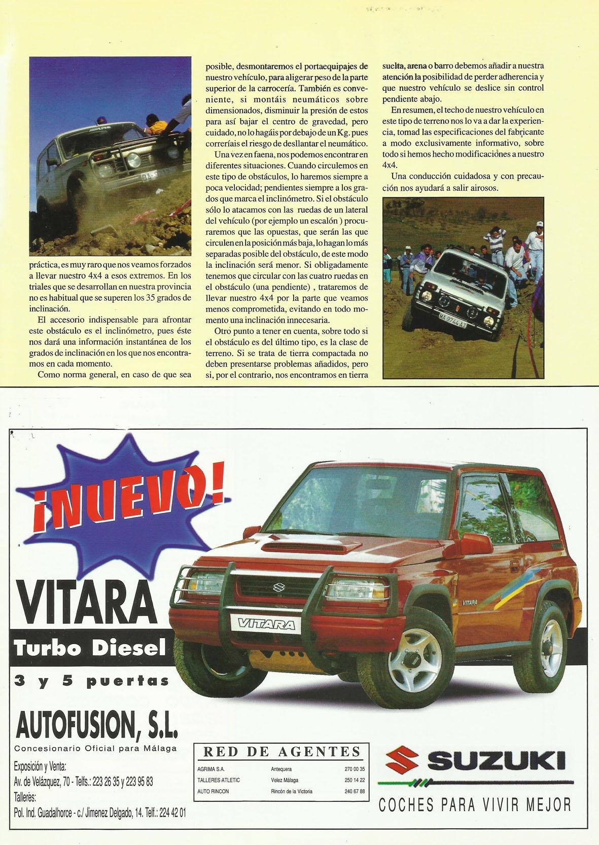 Revista Local 4x4 32 39 Conducción en Trial Inclinaciones Laterales
