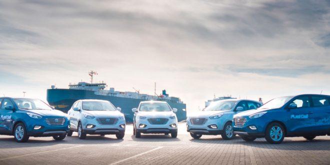 El Hyundai ix35 Fuel Cell llega a Europa