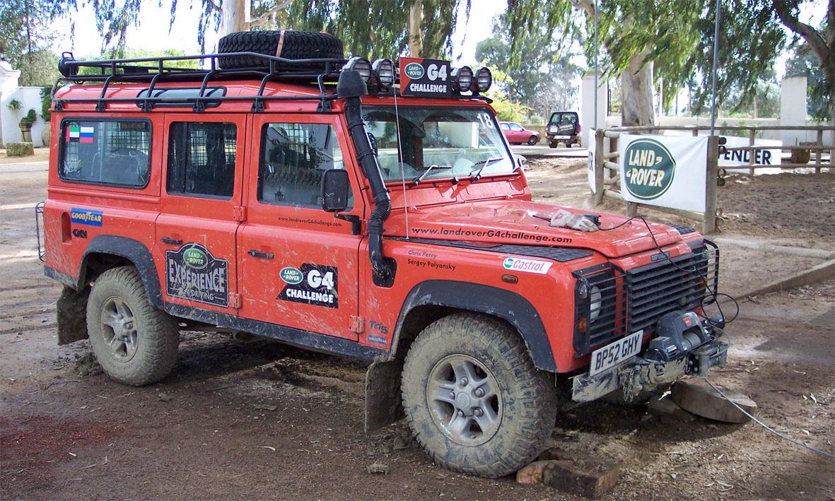 Land Rover Defender G4 Challenge