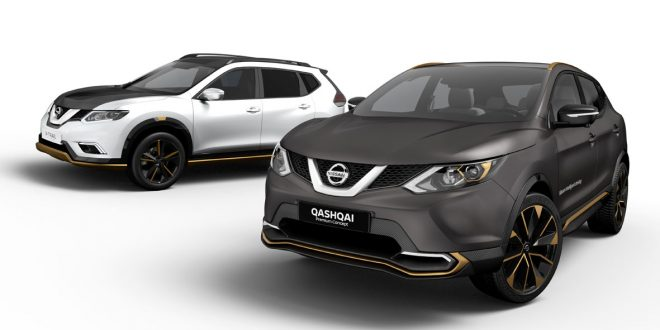 Nissan Qashqai y X-Trail en el Salón de Ginebra 2016