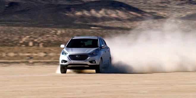 El Hyundai ix35 Fuel Cell bate un récord de velocidad