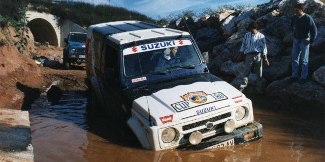 Suzuki en barro
