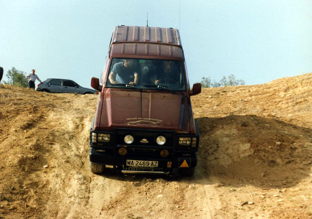 En una rampa, el ángulo de ataque primero, y el ángulo de salida después, determinan la capacidad de nuestro vehículo para no dar con los bajos.
