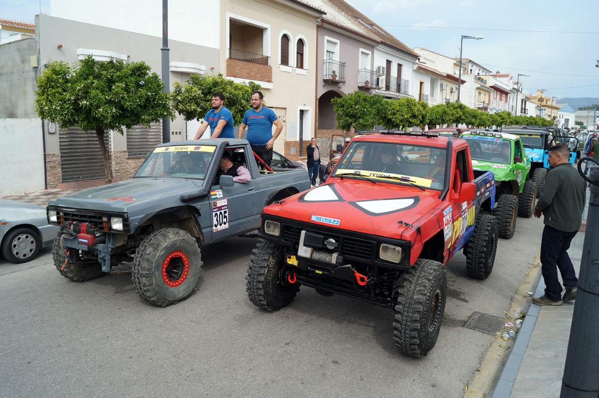 Llegada de los equipos al Ayuntamiento de Pizarra para recibir el briefing inicial.