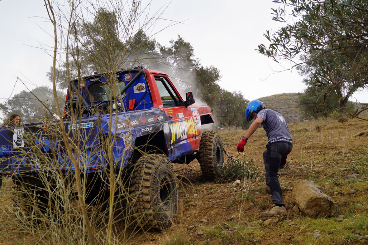 Una inoportuna avería separó al equipo Luis Extremo 4x4 del podium.