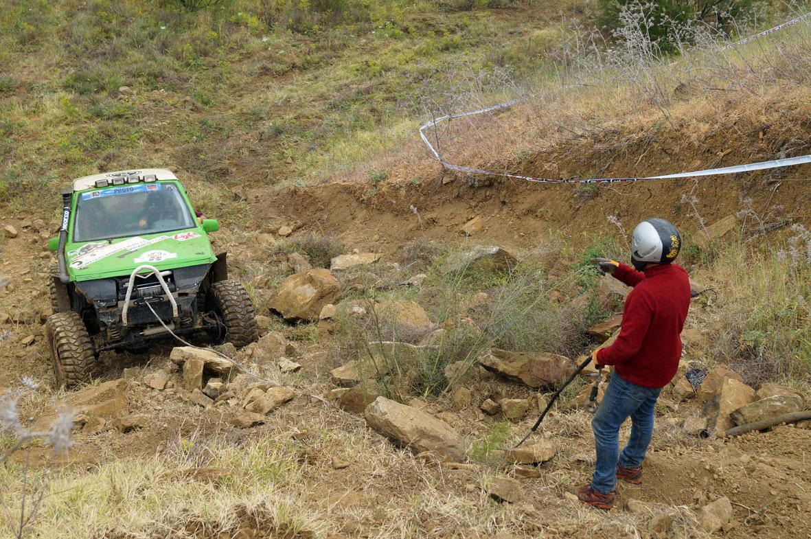 Fueron muchos los equipos que tuvieron que recurrir al winch para superar las zonas.