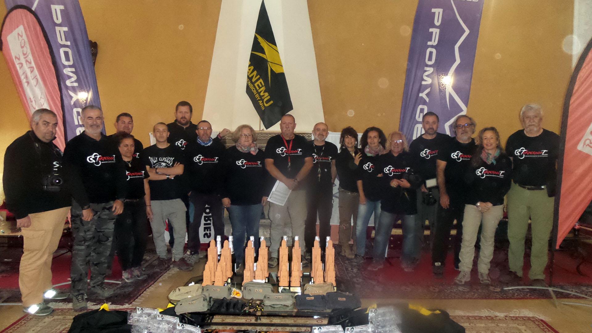 Equipo organizador del Rally Clásicos del Atlas 2019.