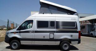Mercedes Grand Canyon S 4×4, un vehículo para viajar, y quedarse, casi en cualquier lugar