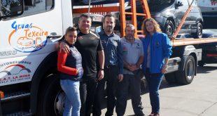 El equipo organizador del Campeonato Extremo 4×4 de Andalucía visita Autodesguace CAT La Mina y Grúas Texeira