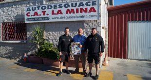 Autodesguace CAT La Mina y Grúas Texeira cierran un acuerdo de colaboración con la V Ruta Solidaria 4×4 Málaga