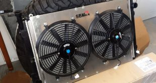 SBM 4×4 lanza al mercado un kit de soporte y electro ventiladores para el Nissan Patrol GRY60 y GRY61