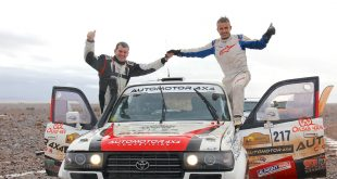 Victoria para el equipo formado por Joan Font y Borja Rodríguez, con Toyota Land Cruiser 80, en el Iriki Rally