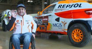 El vehículo con el que Isidre Esteve disputará el Dakar 2020 pone rumbo hacia Arabia Saudí