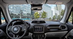 Jeep aumenta la conectividad y el uso compartido de datos en el Renegade modelo 2020