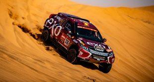 El equipo formado por Cristina Gutiérrez y Pablo Huete, con Mitsubishi Eclipse Cross, consigue finalizar el Dakar 2020
