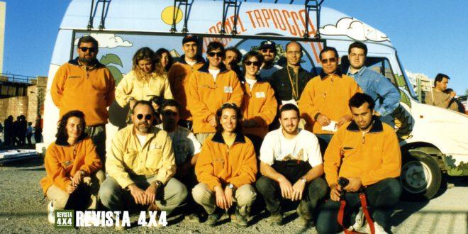 Equipo organizador prólogo de Almería de la Coronel Tapiocca CUP 180