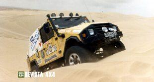 UMM Jabato en arena desierto de Marruecos