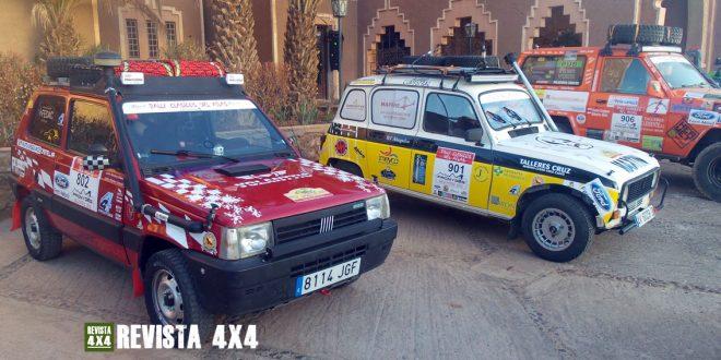 Fiat Panda 4x4, Renault 4 y Nissan Patrol