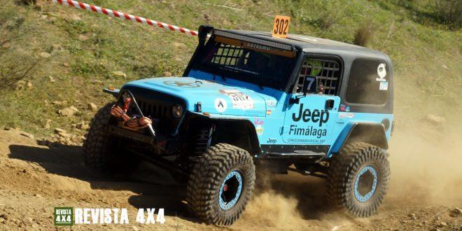 Jeep Wrangler Team VanEli Campeoanto Extremo 4x4 de Andalucía