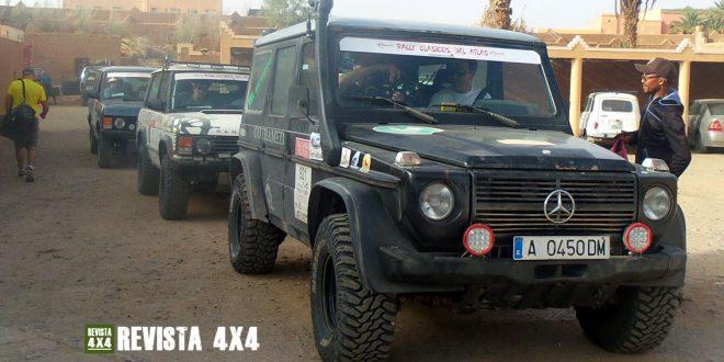 Mercedes Benz Clase G 4x4 Rally Clásicos del Atlas en Marruecos