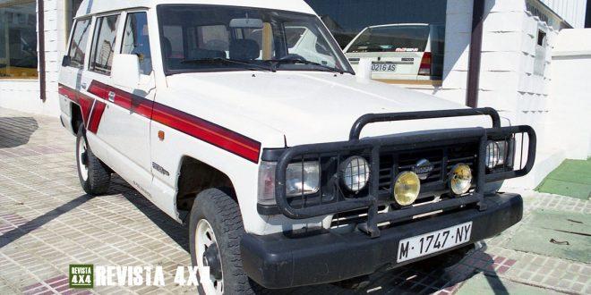Nissan Patrol Largo Techo Alto 9 plazas color blanco