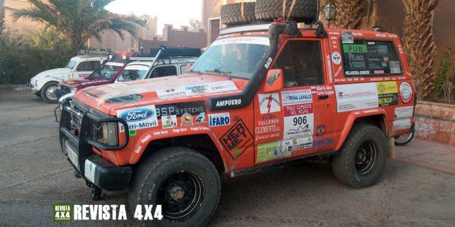 Nissan Patrol en el Rally Clásicos del Atlas