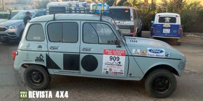 Renault 4 Rally Clásicos del Atlas