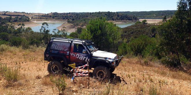 Nissan Patrol del Club Deportivo Team Zapatito 4x4 en Finca Kosso.