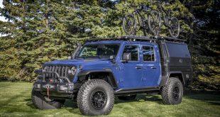 Jeep Gladiator Top Dog Concept, para los amantes del ciclismo y la aventura