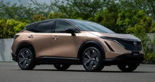 Las primeras unidades del nuevo Nissan Ariya llegan a Europa