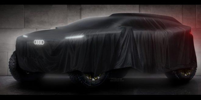 Prototipo Audi para el Dakar 2022.