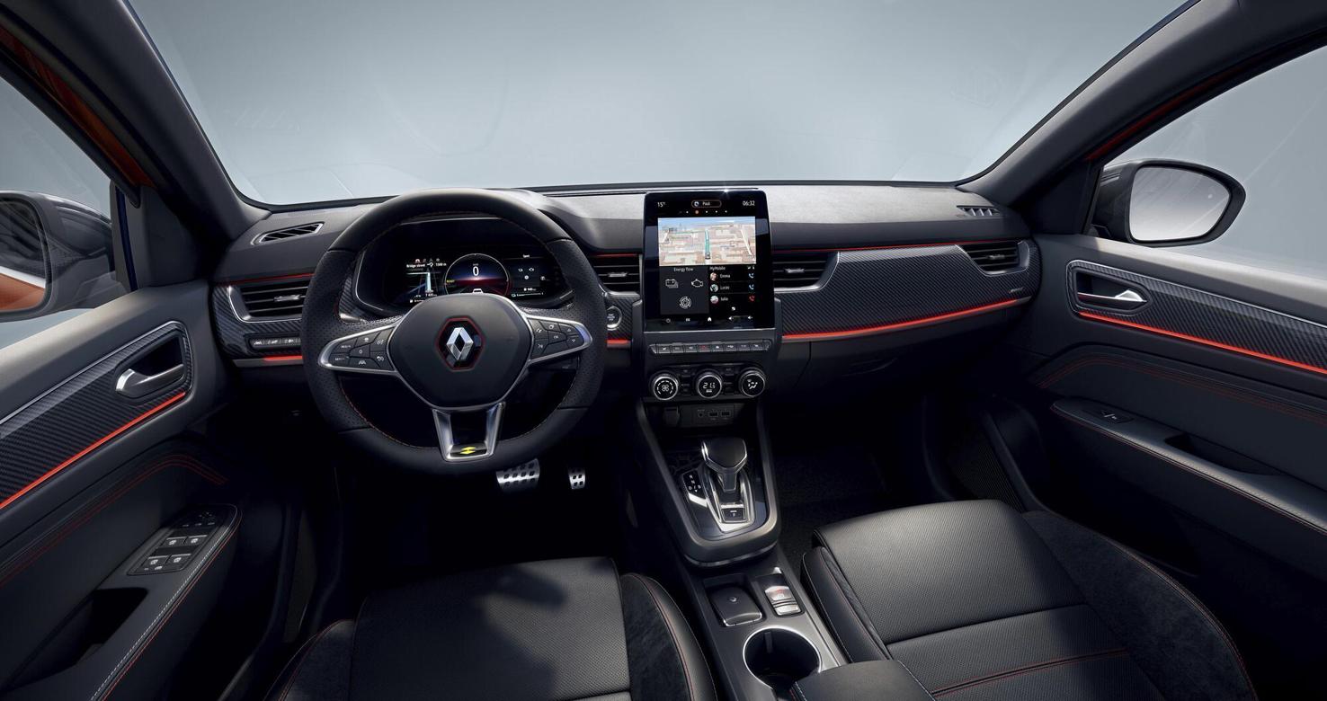 Interior Nuevo Renault Arkana.