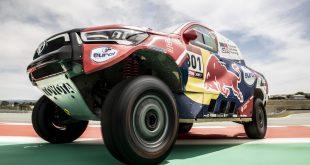 Toyota acudirá a la próxima edición del Dakar con cuatro Toyota Hilux