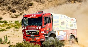 El equipo Marrones Jalan, con camión Man, consigue finalizar el Dakar 2021 en su primera participación